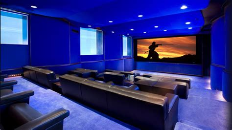 great home theater room  decorative