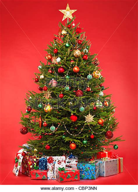 gifts under christmas tree stock photos gifts under