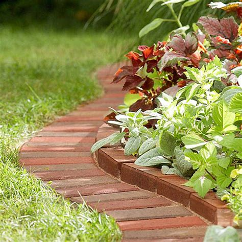 garden border ideas beautiful classic lawn edging ideas the garden glove