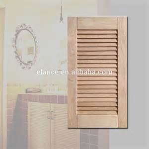 kitchen cabinet shutters elegant solid wood shutter cabinet door for kitchen