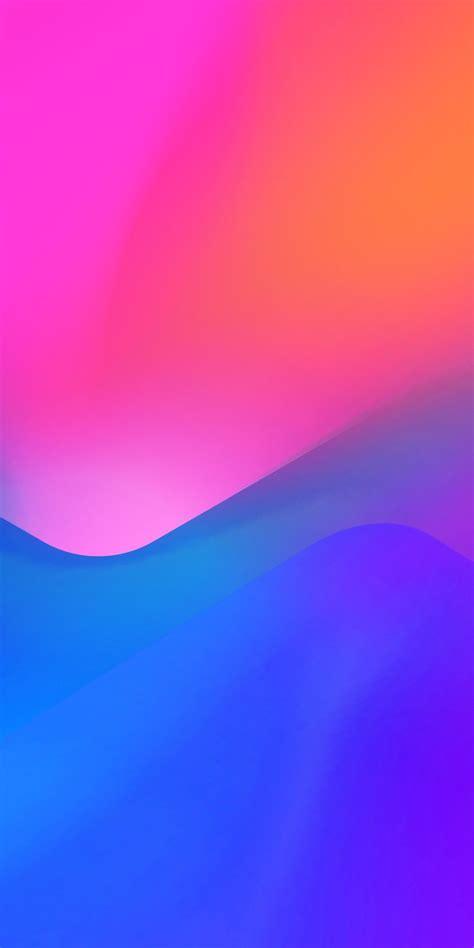 meitu  abstract amoled liquid gradient en
