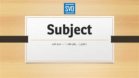 Definition For Subject 187 Definition Meaning Pronunciation Origin