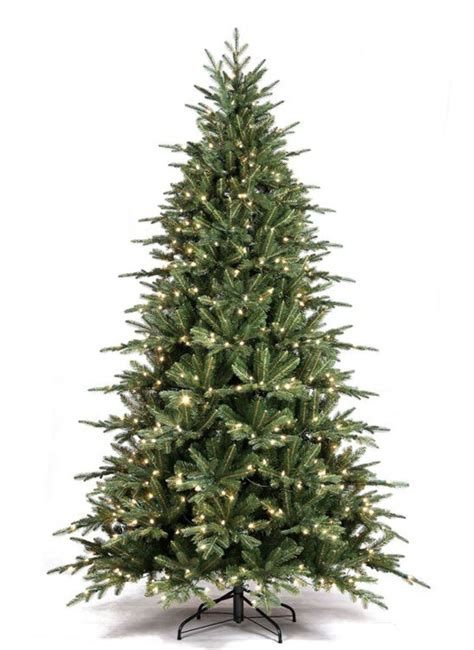 pre lit artificial christmas trees best deals cyber monday pre lit 9 foot lander spruce artificial tree led clear lights ebay