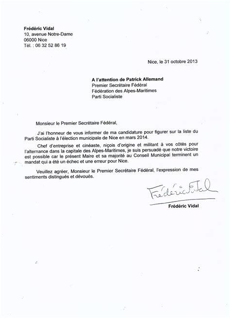 Exemple De Lettre De Démission Informelle Modele Lettre De Demission Conseiller Municipal Gratuit Document