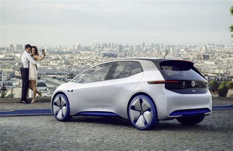 Auto Id by Volkswagen Id Electric Car Production Date Now Set