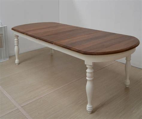tavolo ovale allungabile tavolo ovale bianco provenzale tavoli bianchi legno
