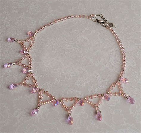 best 25 beaded necklace patterns ideas on