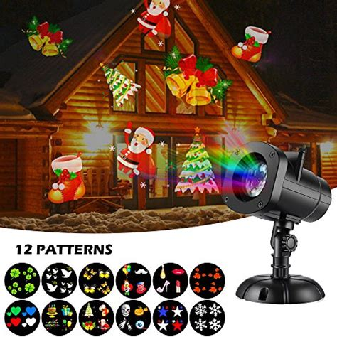 christmas slides for projector shower slide show outdoor snowflakes projector light decorations