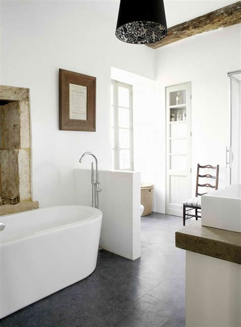 modern french bathroom 18th century manor house in dordogne france decoholic