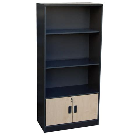gray bookcase with doors glass doors for bookcase grey beech