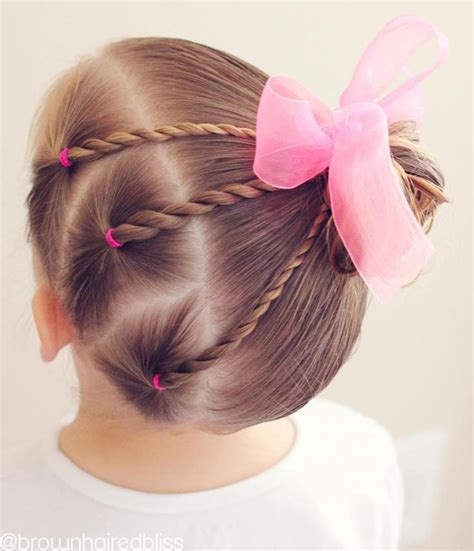 Hairstyles For Toddler by Best 25 Easy Toddler Hairstyles Ideas On Kid