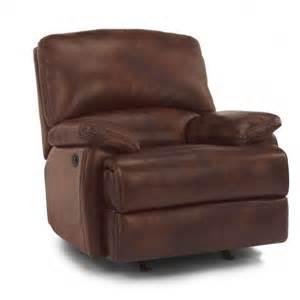 leather recliner w power 1127 500p flexsteel