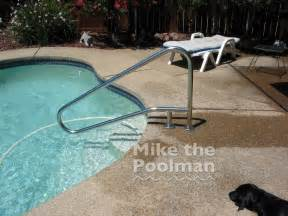 question about properly bonding a swimming pool railing