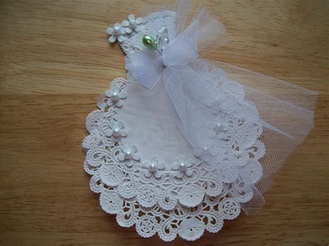 Make Paper Doilies - white paper doily wedding gown pdf embellishment scrapbook