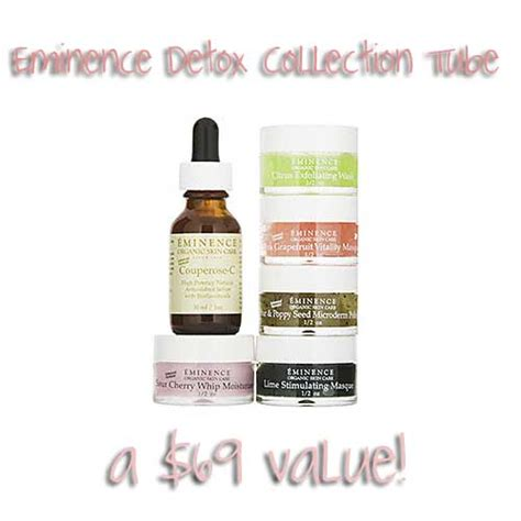 Eminence Detox Collection by Free Stuff Friday Eminence Detox