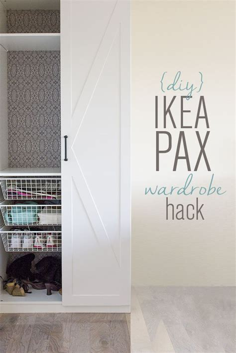 domino does a pax hack ikea hackers ikea hackers ikea pax door hack diy barn door style wardrobes jenna