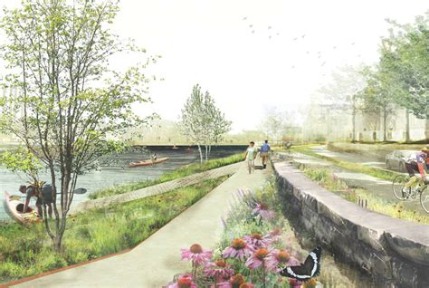Landscape Architecture Events Design Revealed For Water Works Riverfront Park In Minneapolis