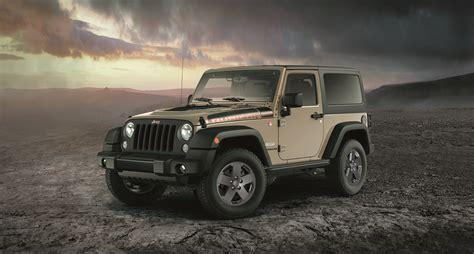fiat jeep wrangler jeep announces new limited edition wrangler rubicon recon