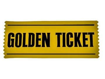 golden ticket  word  pure imagination merriam webster