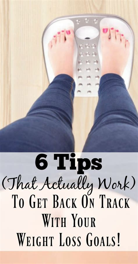Track Hotwheel With Three Goals 6 6 tips to get back on track with your weight loss goals weight loss journey weight loss and goal