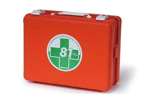 cassette pronto soccorso vuote cassetta per il pronto soccorso
