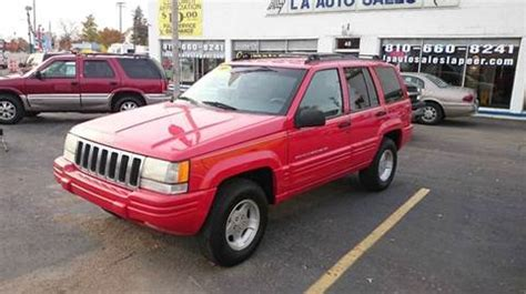used jeep grand for sale in michigan used 1998 jeep grand for sale in michigan