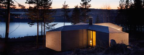 banner design oslo cabin at norderhov by atelier oslo in norway nordicdesign