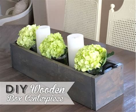 wooden centerpiece boxes 25 best ideas about wooden box centerpiece on