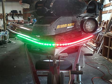 boat trailer runway lights weatherproof high power led flexible light strip wfls x