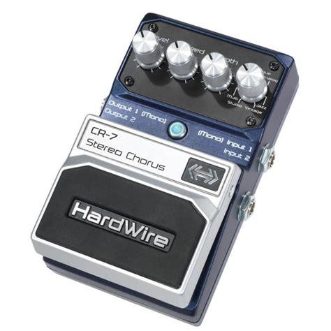 New Series Digitec digitech hardwire series cr 7 cr7 stereo chorus guitar