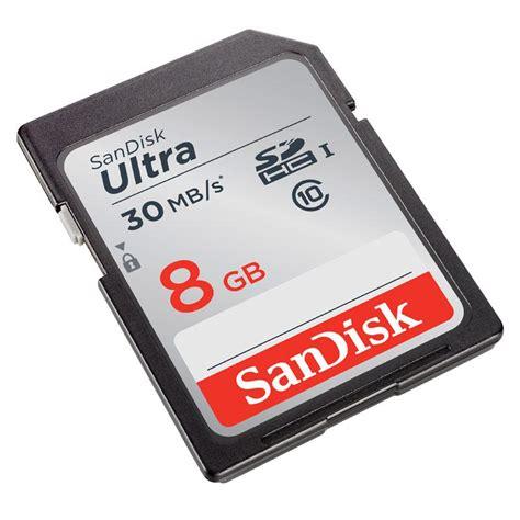 Sandisk Ultra 8gb Class 10 thẠnhá sdhc sandisk ultra 16gb class 10 tá c ä á 30mb s hdg
