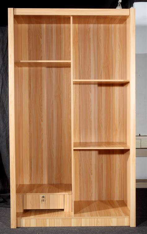 Pre Assembled Wardrobe Closets Simple Wood Furniture Assembled Wooden Shutters Sliding