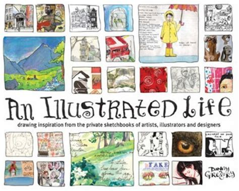 an illustrated life drawing designer book shelf 4