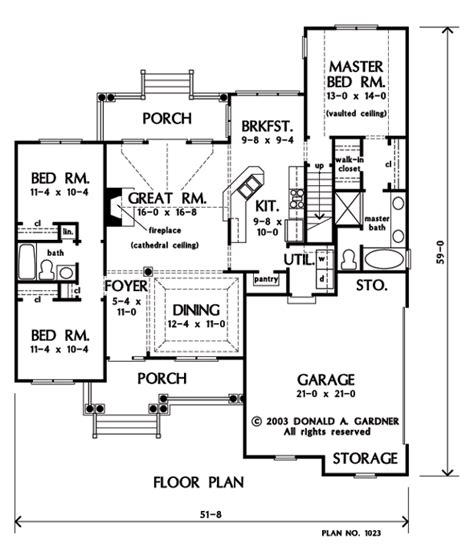 don gardner plans house floor plans donald gardner bing images