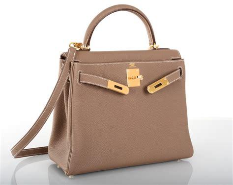 Hermes Jelly Bag G8821 hermes bag etoupe 28cm togo gold hardware stunning