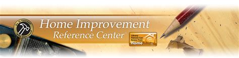 home improvement reference center home repair database