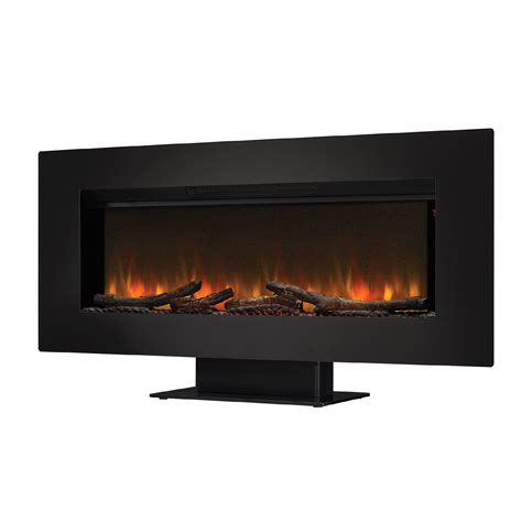 Infrared Wall Fireplace by Felicity 47 Quot Wall Mounted Infrared Quartz Fireplace Black