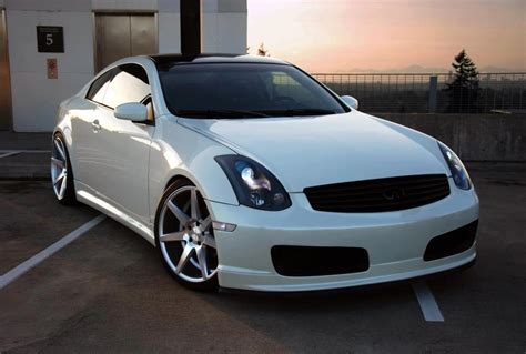 infiniti g35 headlight projector g35 coupe headlights painted g35driver