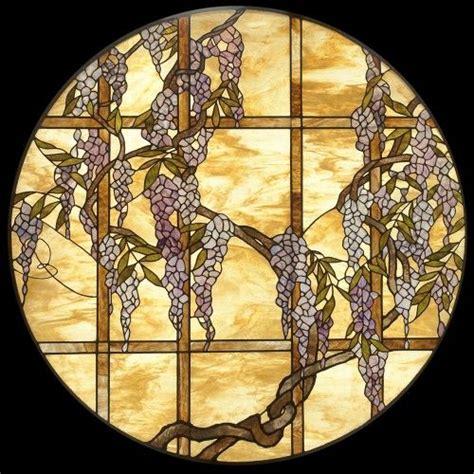 coloreds only wisteria stained glass window coloreds only