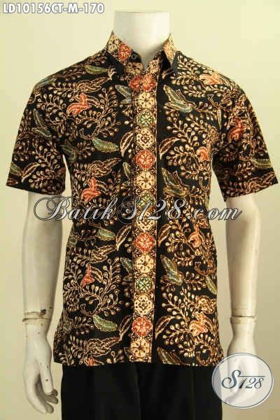 desain baju unik keren model baju batik solo lengan pendek keren desain kekinian