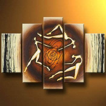 liven up your walls with 3d paintings acrobats 5 piece abstract to spice up your walls