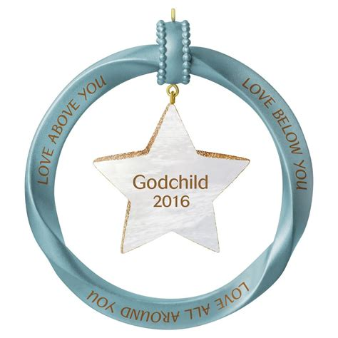 2016 godchild hallmark keepsake ornament hooked on