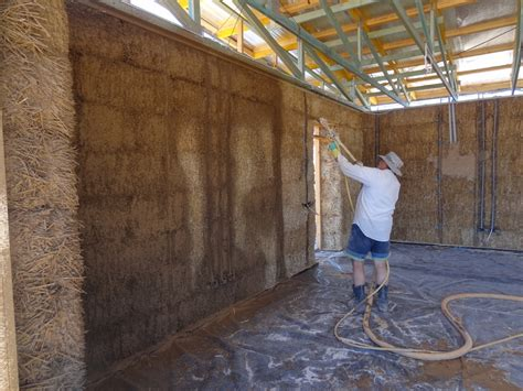 Prefabricated House choosing a plaster system for your straw bale house the