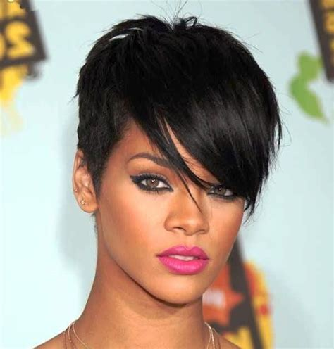 Razor Cut Hairstyles by Rihanna Hairstyles Hairstyle Ideas Rihanna