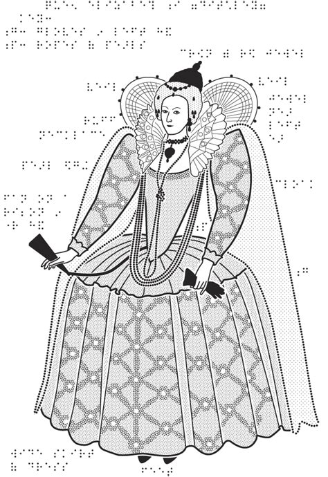 coloring pages queen elizabeth 1 the tudors national portrait gallery