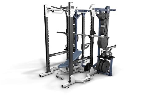 Hammer Strength Combo Rack by Hd Elite Gymcare