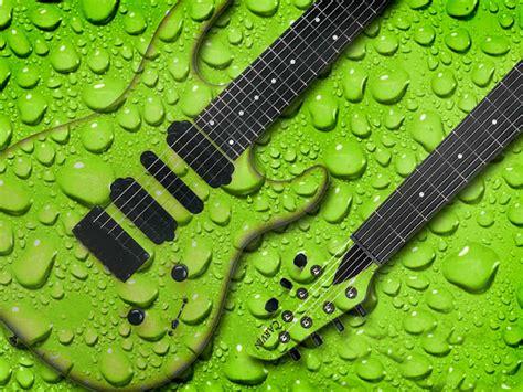 wallpaper green guitar green guitar wallpaper