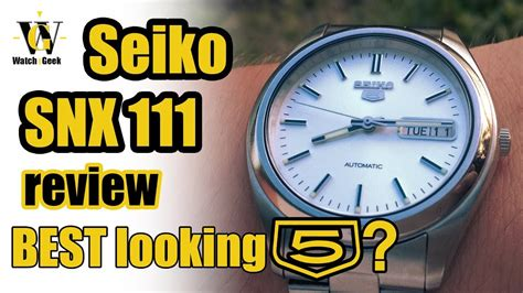 best seiko 5 seiko 5 review snx 111 is it the best looking seiko 5
