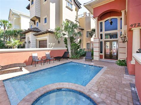 5 Bedroom Rental Destin Fl Destin Florida Usa Camelot Large Family Luxury 5