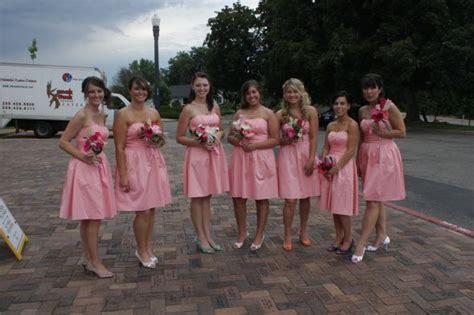 boy wear bridesmaid pink bridesmaid dresses show me please weddingbee